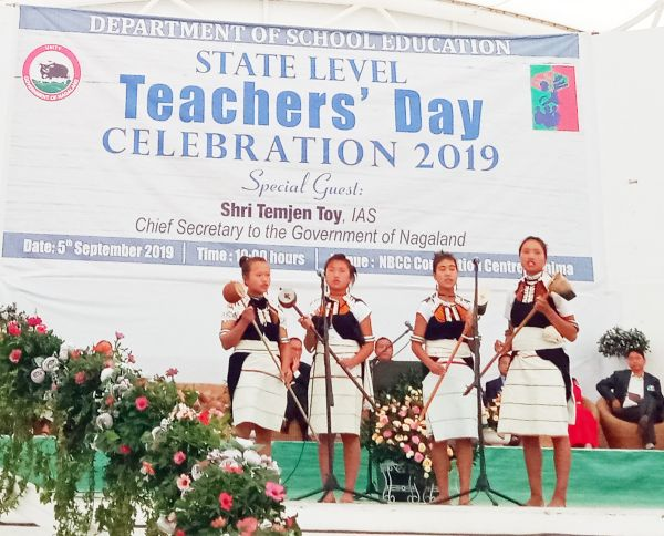 Cultural & traditional day at all govt schools in Nagaland