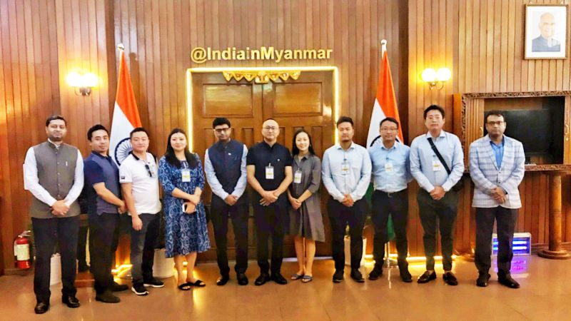 YI Nagaland delegation visits to Myanmar