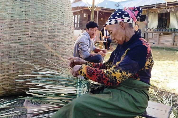 Kijümetouma village- Weaving the tradition and beauty of bamboo baskets