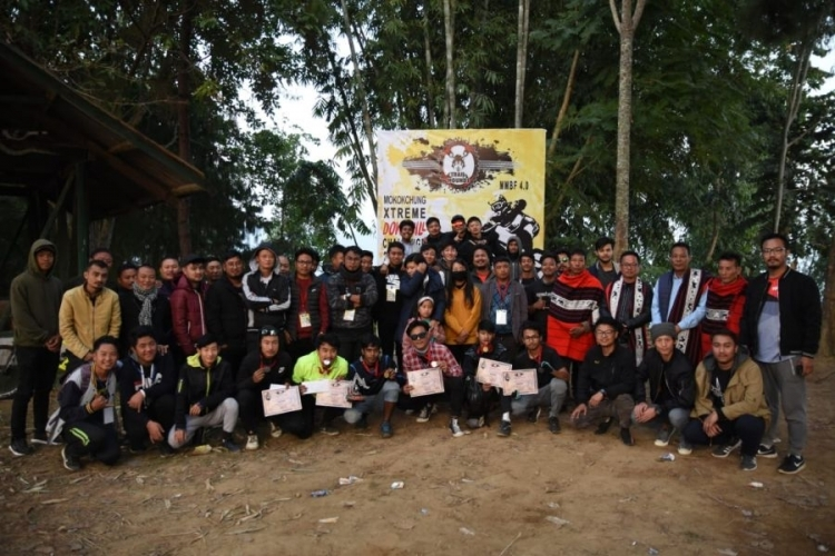 Mokokchung Mountain Bike Festival 4.0 held in Ungma