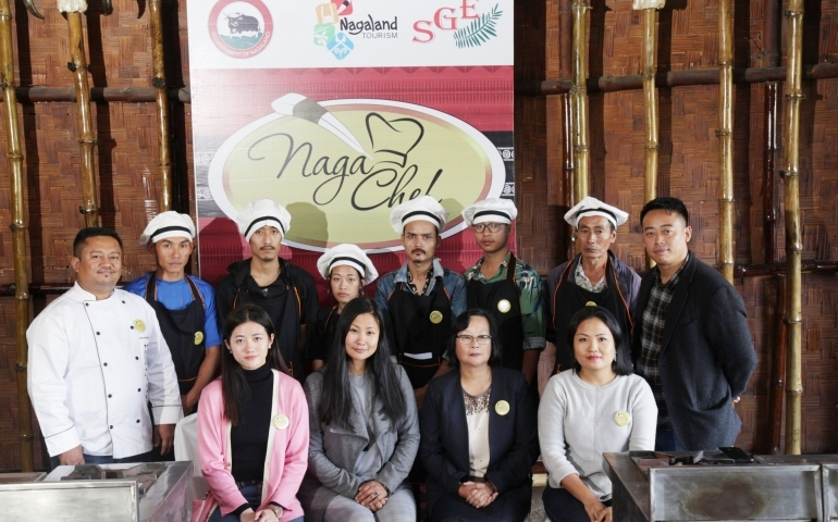 7th Naga Chef in Kohima commences