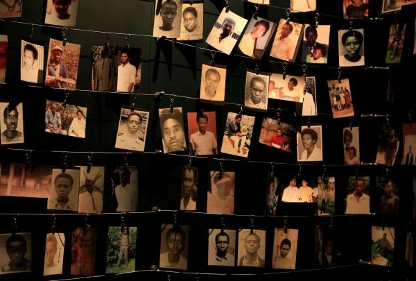 Photographs of people who were killed during the 1994 genocide are seen inside the Kigali Genocide Memorial Museum as the country prepares to commemorate the 20th anniversary of the genocide in the Rwandan capital Kigali April 5, 2014. An estimated 800,000 people were killed in 100 days during the genocide. (REUTERS File Photo)