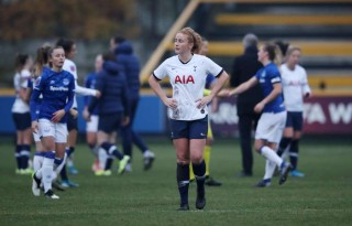 Tottenham Hotspur's Rachel Furness reacts. (Reuters File Photo)