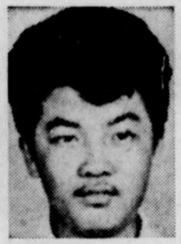 A photo of Roland Tan Tong Meng published in The Straits Times on April 16, 1970.  (Singapore Press Holdings/The Straits Times via REUTERS File Photo)