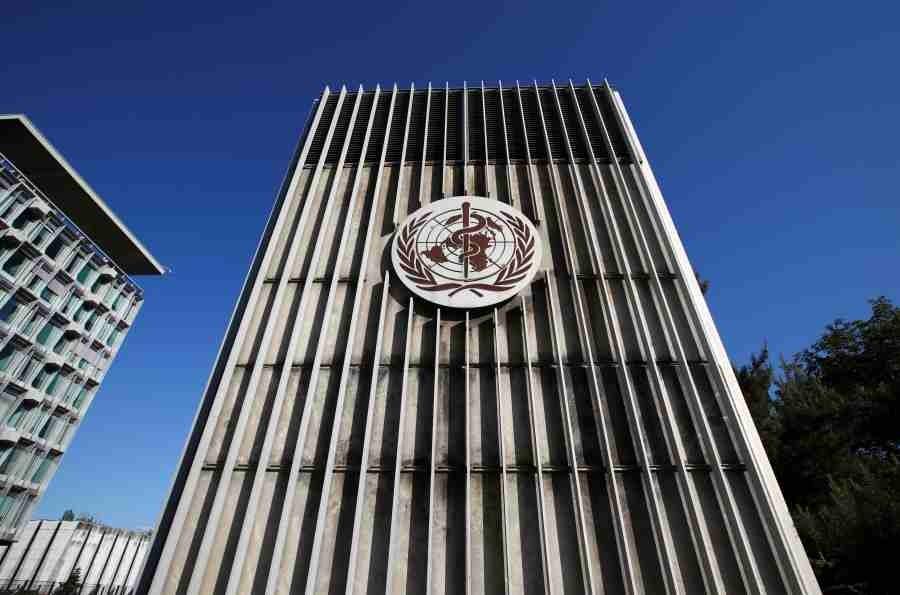 The headquarters of the World Health Organization in Geneva, Switzerland, May 18, 2020. REUTERS/File Photo