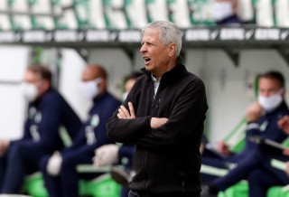 Borussia Dortmund coach Lucien Favre, as play resumes behind closed doors following the outbreak of the coronavirus disease (COVID-19) REUTERS