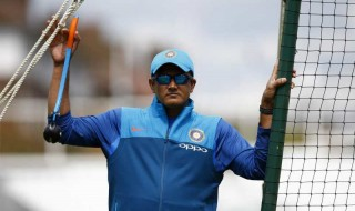 Britain Cricket - India Nets - The Oval - June 7, 2017 India coach Anil Kumble during nets Action Images via Reuters / Peter Cziborra Livepic/File photo
