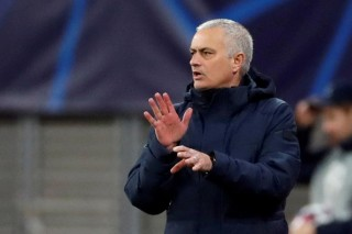 Tottenham Hotspur manager Jose Mourinho. (Reuters File Photo)