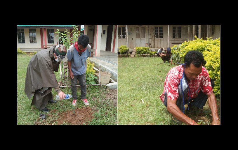 Under the theme, 'Time for Nature,' the Ahthibung Region Club (ARC) joined the rest of the world in observing the World Environment Day 2020 by planting trees and spreading the message to give time for nature.Assam Rifles Ahthibung Camp, GHS Ahthibung, Police Station and Town Authorities of Ahthibung Town were also came forward to observe the day, informed a ARC in a press note.