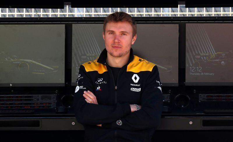 Renault reserve driver Sergey Sirotkin during testing REUTERS/Albert Gea/File Photo