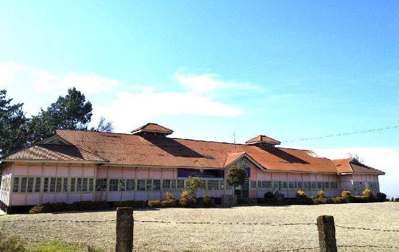 A view of the government higher secondary school, Jotsoma. (Morung Photo)
