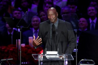 Michael Jordan (Reuters File Photo)
