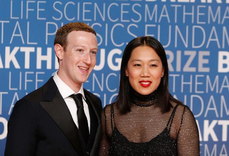 Mark Zuckerberg and Priscilla Chan. Getty Images
