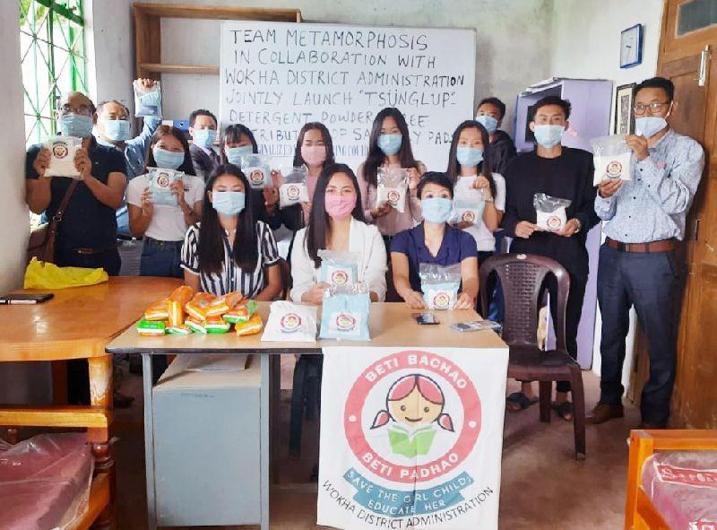 EAC, Wokha, Imtijungla with Team Metamorphosis and NEISSR interns.