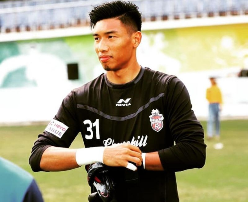 James Kithan, the 25-year old Goalkeeper from Nagaland. (James Kithan/ Instagram)