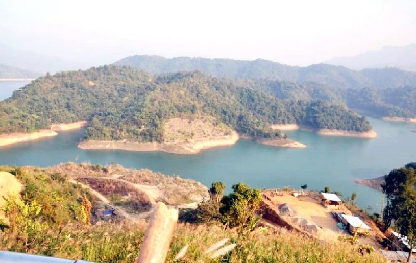 Catchment area of Doyang Dam in Wokha district. (Photo Courtesy: Wokha.nic.in)