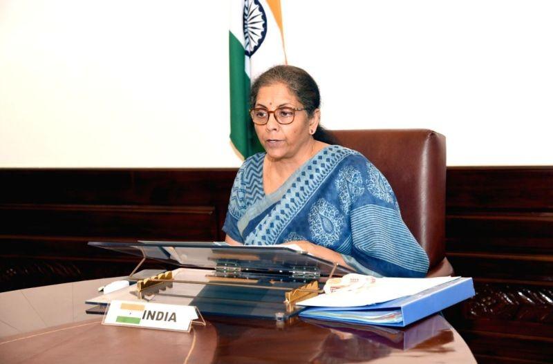 Union Minister for Finance and Corporate Affairs, Nirmala Sitharaman. (IANS/PIB Photo)