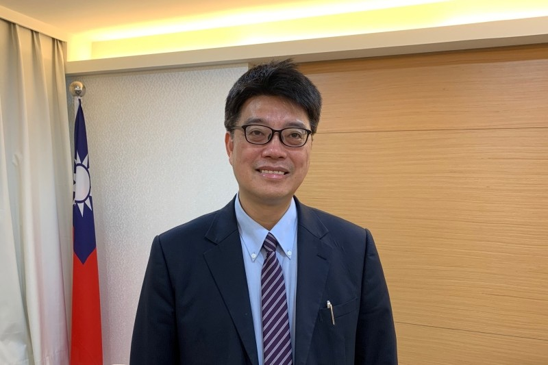Deputy Minister for Taiwan's Mainland Affairs Council, Chiu Chui-cheng, poses after an interview in Taipei, Taiwan on May 3, 2019. (REUTERS File Photo)