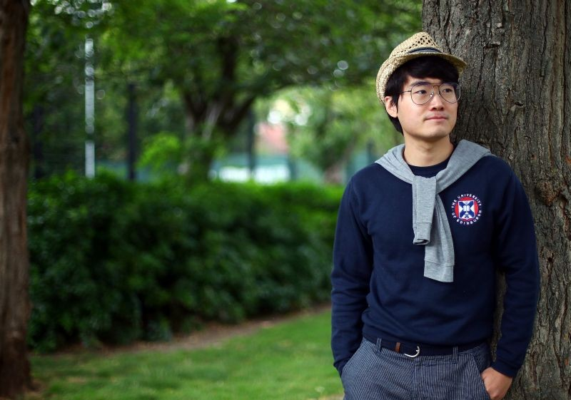 Simon Cheng, a former British Consulate employee, poses for a photograph in London, Britain on July 2. (REUTERS Photo)