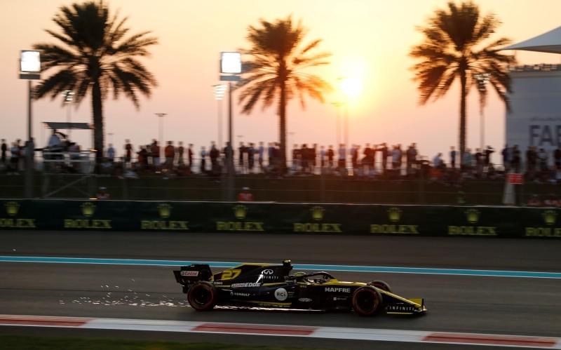 Yas Marina Circuit, Abu Dhabi, United Arab Emirates - November 30, 2019   Renault's Nico Hulkenberg during qualifying   REUTERS/Hamad I Mohammed