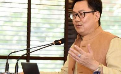 Union Sports Minister Kiren Rijiju. (File Photo)