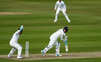 Durham's Cameron Bancroft in action Action Images via Reuters/Lee Smith/File Photo