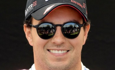 FILE PHOTO: Racing Point's Sergio Perez poses for a drivers portrait REUTERS/Tracey Nearmy/File Photo