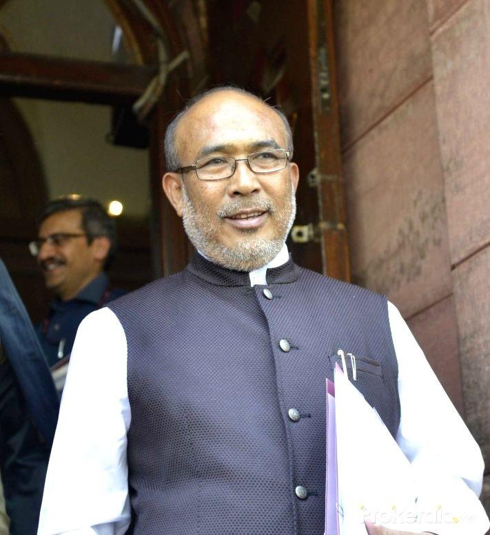 Manipur Chief Minister N Biren Singh. (IANS File Photo)