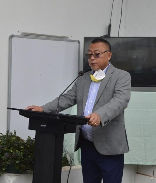 Nagaland  Health and Family Welfare Minister, S Pangnyu Phom. (File Photo)