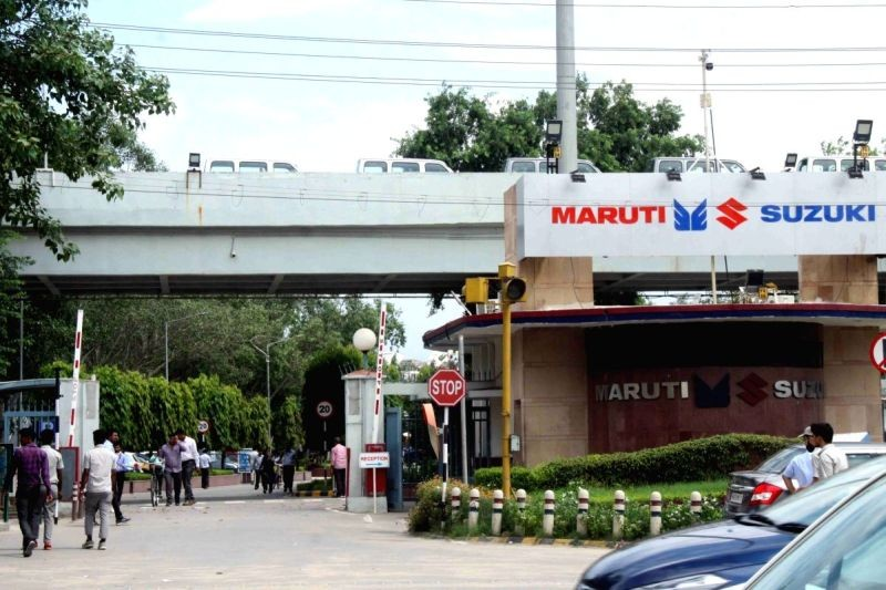 Gurugram: Maruti Suzuki plant, Gurugram. (IANS File Photo