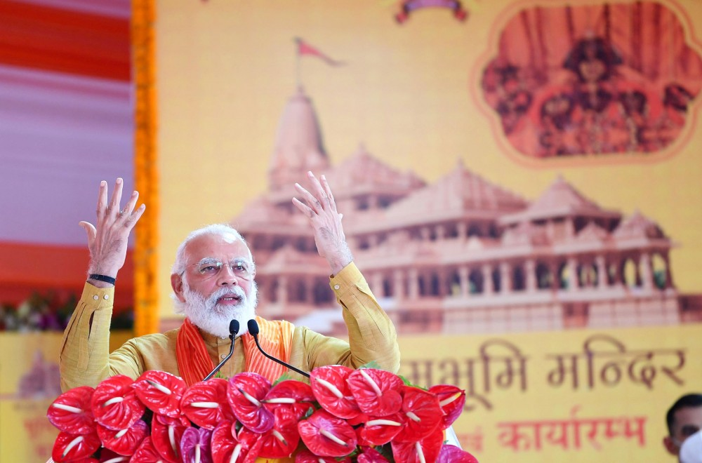 Prime Minister Narendra Modi. (PIB India Photo)