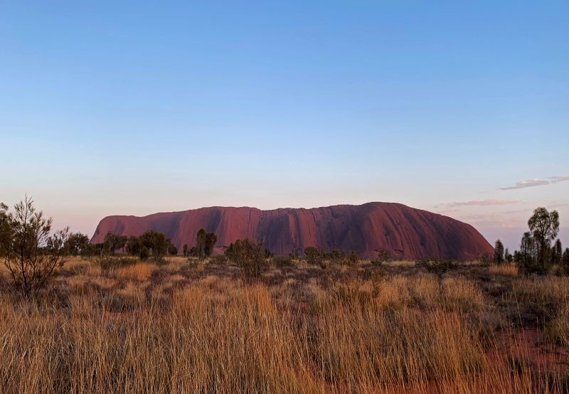 A view of Uluru, formerly known as Ayers Rock, near Yulara, Australia on October 25, 2019. (REUTERS File Photo)