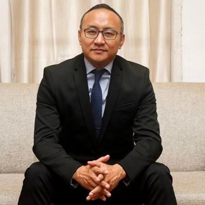 Member of Nagaland Legislative Assembly and Advisor Mmhonlumo Kikon. (Photo Courtesy: @MmhonlumoKikon / Twitter)