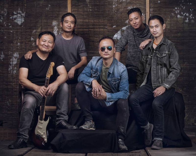 The Rattle and Hum Band from Nagaland participated in the V-Rox Festival in 2017.