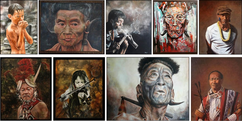 Some of the artworks by various artists which have been sold to private collectors and art patrons under the initiative of TaFMA.