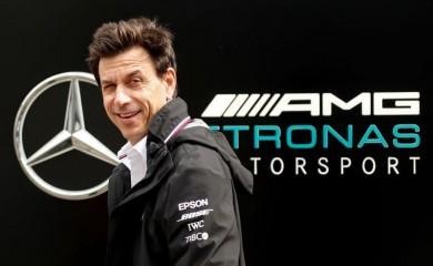 FILE PHOTO: Mercedes' team principal Toto Wolff REUTERS/Maxim Shemetov/File Photo