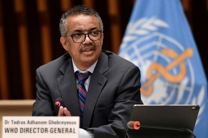 World Health Organization (WHO) Director-General Tedros Adhanom Ghebreyesus. (REUTERS File Photo)