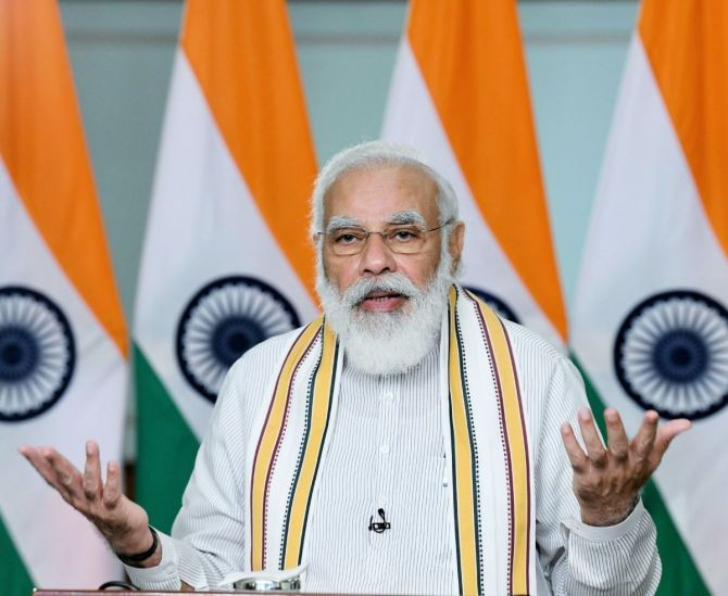 Prime Minister Narendra Damodardas Modi. Photograph: Press Information Bureau