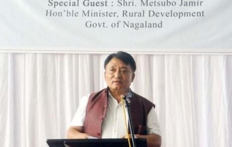 Minister Metsubo Jamir. (Morung File Photo)
