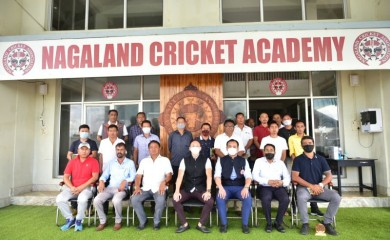 Members of Nagaland Cricket Association and affiliated associations during NCA's 2nd annual general meeting at Nagaland Cricket Academy, Sovima, Dimapur on September 23. The affiliated District Associations of NCA are Kohima, Zunheboto, Wokha, Phek, Kiphire, Tuensang, Longleng, Mon, Mokokchung, Peren & Dimapur