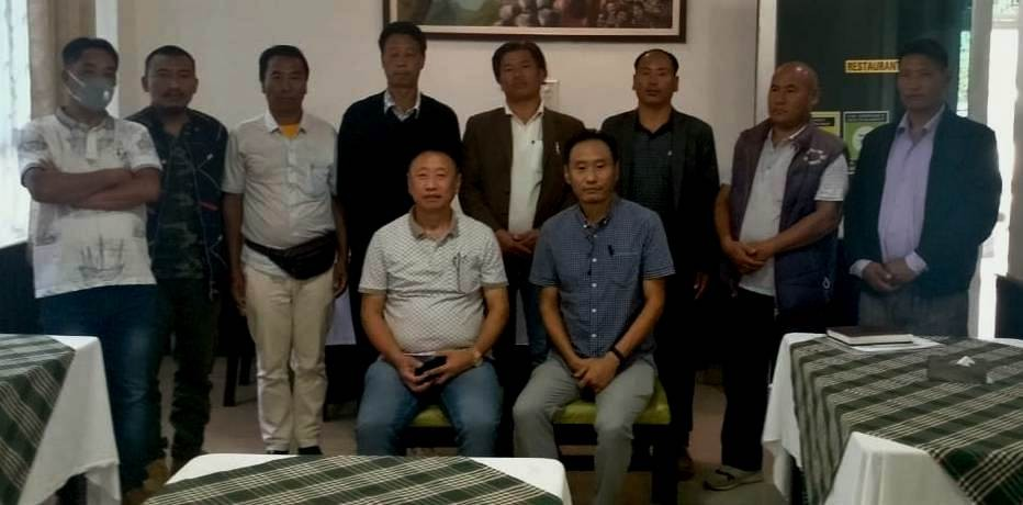 The outgoing and incoming officials of the CWA after the function at Ura Hotel, Kohima (Photo Courtesy: Kuzhovesa Soho)
