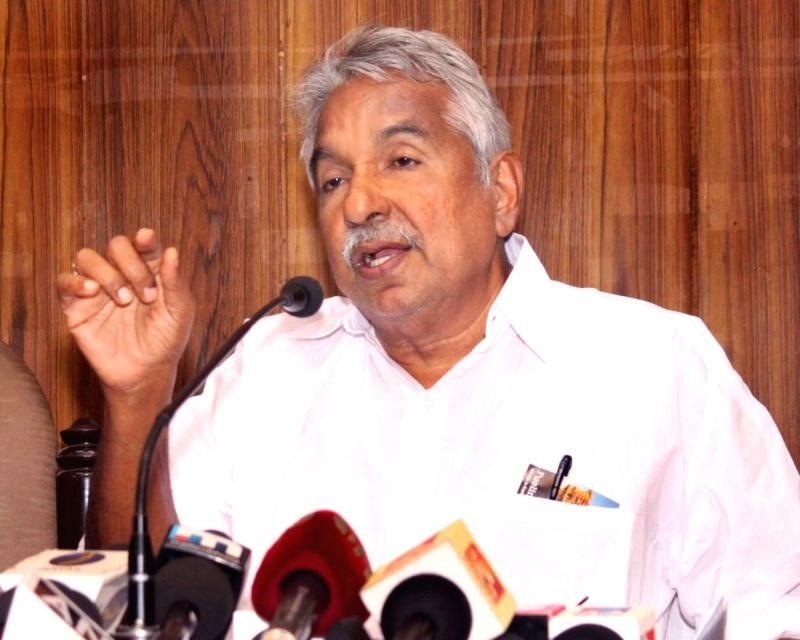 Oommen Chandy. (IANS File Photo)