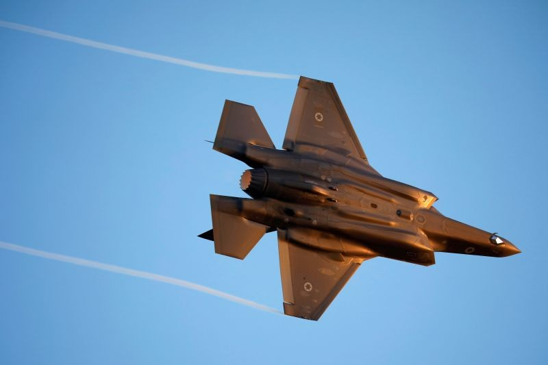 Israeli Air Force F-35 flies during an aerial demonstration at a graduation ceremony for Israeli air force pilots at the Hatzerim air base in southern Israel on June 27, 2019. (REUTERS File Photo)