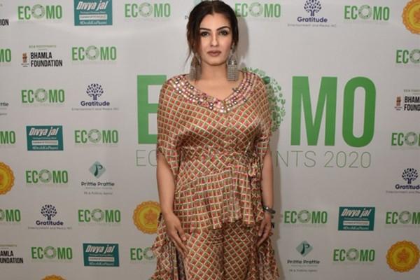 Actress Raveena Tandon . (IANS File Photo)