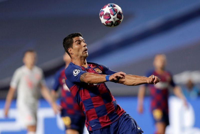 Luis Suarez in action. (Reuters File Photo)
