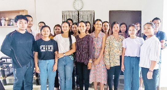Some of the participants and others during the awareness programme on 'significance of child rights' held at Can Youth office Conference Hall on September 26.