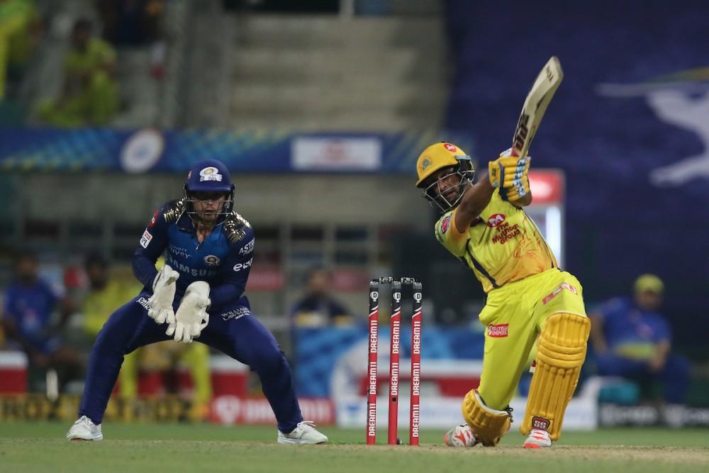 Chennai Super Kings' Ambati Rayudu in action. (Photo Courtesy: @IPL / Twitter)