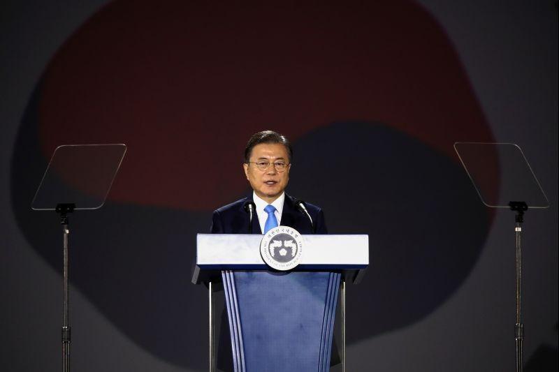 South Korean President Moon Jae-in. (REUTERS File Photo)