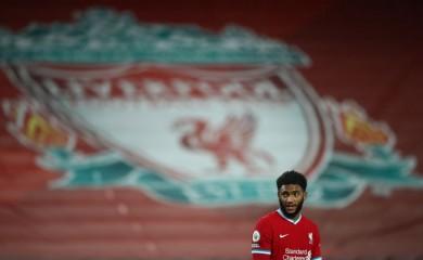 Liverpool's Joe Gomez Pool via REUTERS/Michael Steele