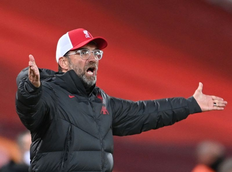 FILE PHOTO: Liverpool manager Juergen Klopp Pool via REUTERS/Laurence Griffiths/File Photo